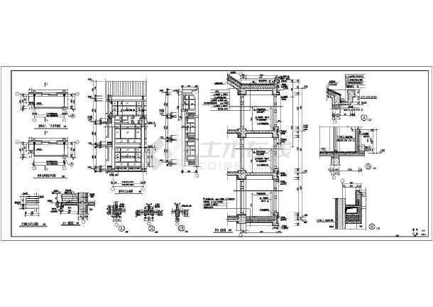 建筑图纸  节点详图