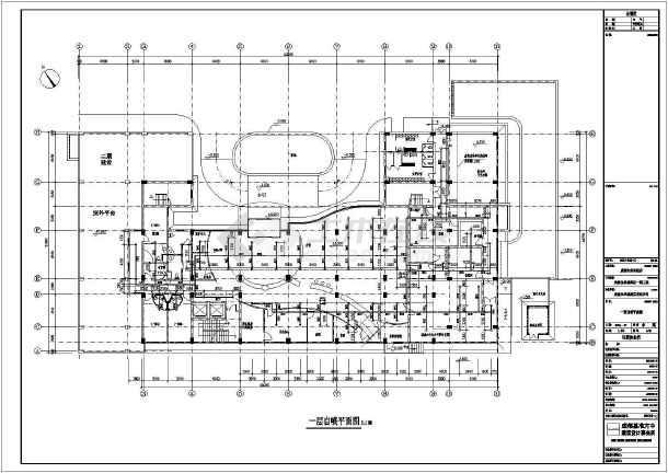 某城市七层框架结构酒店给排水消防工程施工图