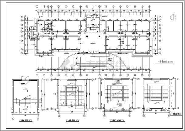 某地五层欧式办公楼建筑设计施工图
