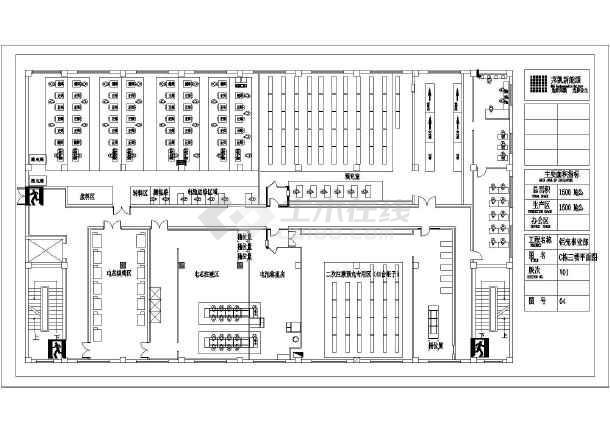 食品工厂平面布局图 食品工厂厂区平面图