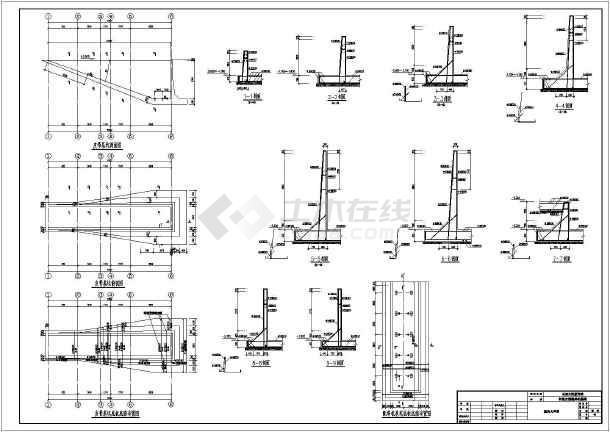 某混凝土搅拌站框架结构基础施工图