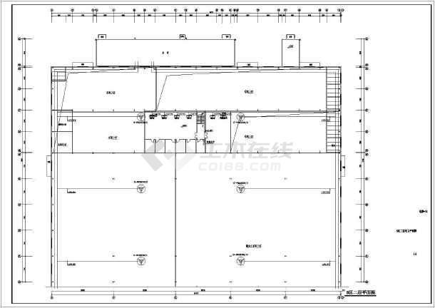 【上海】尺寸电气强电v尺寸厂房施工图_cad图颜色多层sw图纸图片