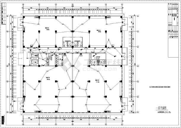 【河南】五层钢结构厂房图纸v厂房电气_cad图cad变成英文能吗图纸中文图片