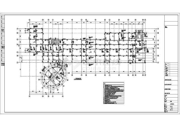 ,梁板配筋图,钢筋混凝土楼梯构造通用图及说明,楼梯剖面,墙身大