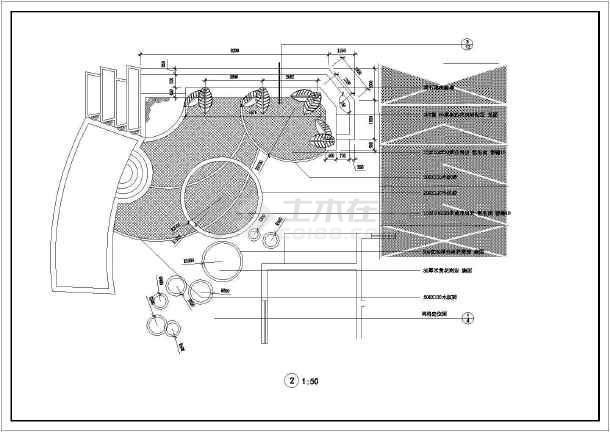某平面庭院设计总别墅及细部v平面CAD别墅_c甪二手房直详图图片