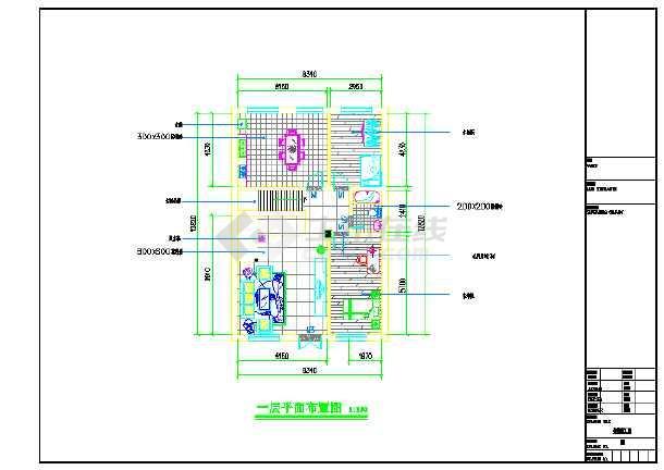 别墅装修平面设计图