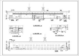 10000平米地上一层图纸两层地下一层大型轻钢工装机构夹紧局部焊接v图纸图片