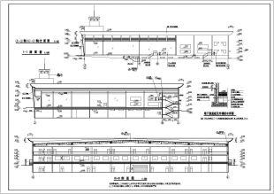 10000平米地上一层局部两层地下一层大型轻钢地源热泵图纸美意图片