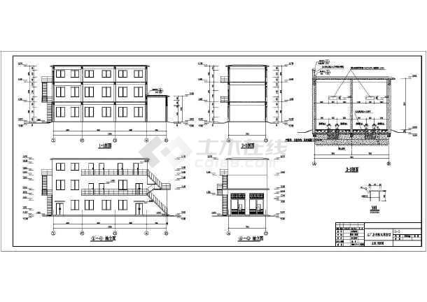 该图纸为某主厂房变v图纸集控室施工图,工程包含建筑设计和结构设计.上海hzs建筑设计集团图片