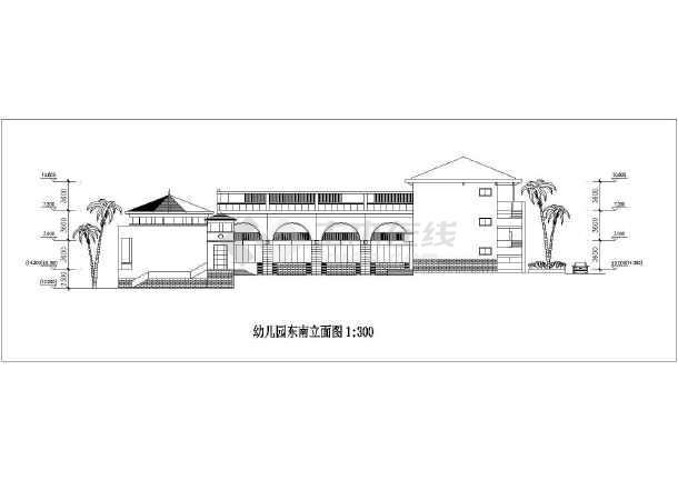 该工程为深圳波托菲诺幼儿园建筑方案设计图,图纸内容包含:各层平面