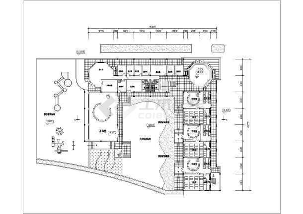 该为深圳波托菲诺幼儿园建筑方案设计图,内容包含:各层,屋顶平面图