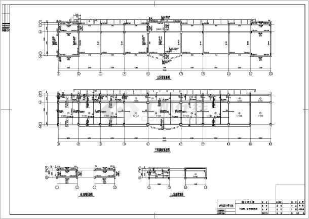 某化工厂综合办公楼施工图纸(建结水暖电消防软件图纸导入安装广联达图片