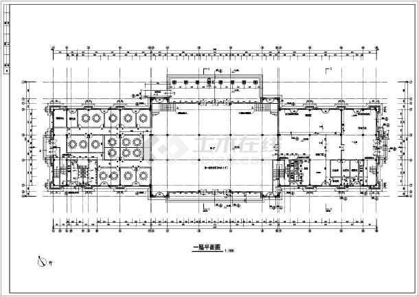 某地三层欧式餐饮楼建筑设计施工图