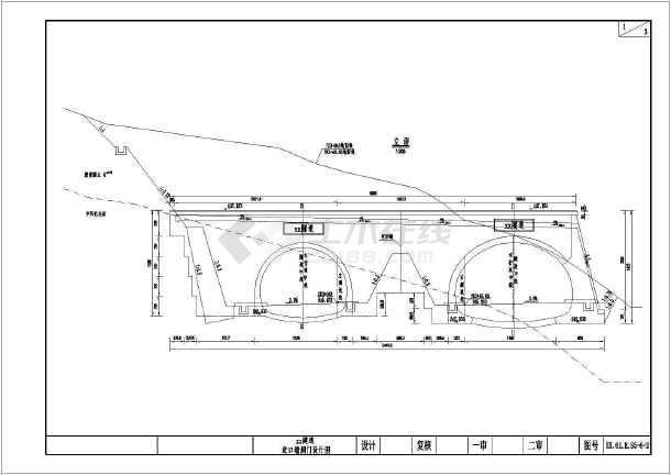 公路等级:高速公路 设计速度:80km/h