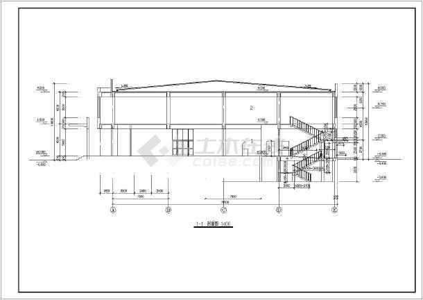 框架结构,带地下贮菜库