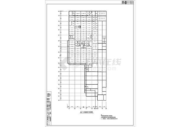 北京某地上18层地下3层结构混凝土钢管施工图2007cad镜像用怎么图片