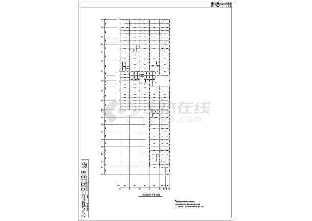北京某地上18层地下3层钢管混凝土结构施工图怎么成sw转换cad图片