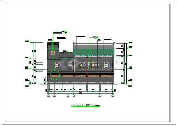 某地清式四合院建筑设计施工图
