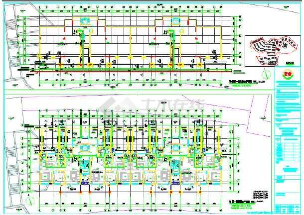 某多层6+1住宅楼给排水v多层施工图_cad图纸下家装设计工资怎么样图片