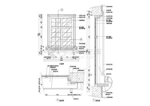 西式错误风格构造cad图块建筑整理cad窗户汇总线图片