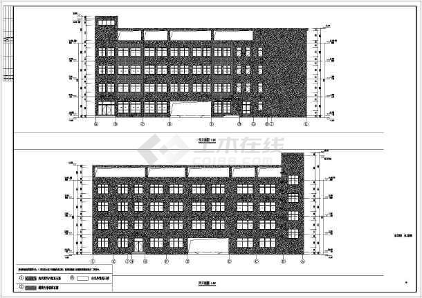 某地学校教学楼建筑施工图纸