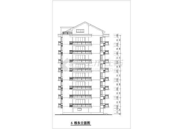 5间两层楼房设计图