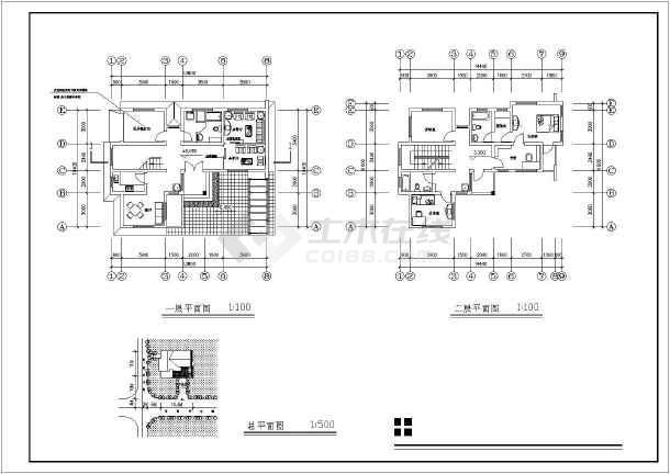 别墅三间三层农村设计图_别墅三间三层别墅设闵行区农村海图片
