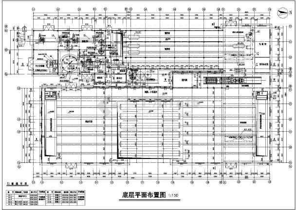 结构施工图,包括设计总说明,建筑平面图 ,建筑屋顶图,建筑立面图,建筑