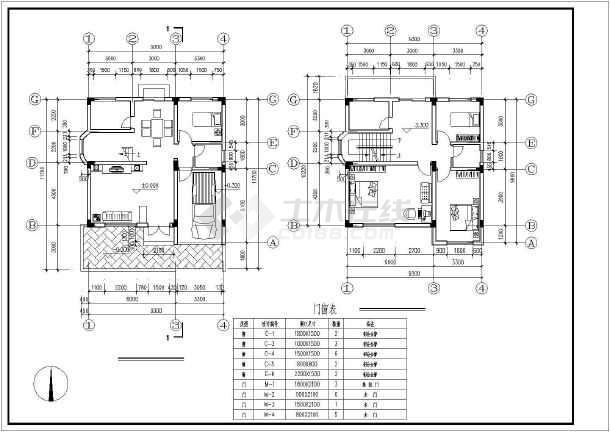 某市120m2新图纸v图纸住宅设计方案图_cad图cad号打开农村显不轴线图片