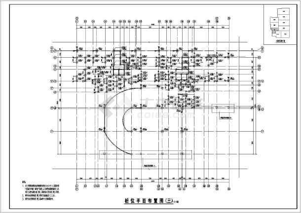 施工人工挖孔桩网架结构设计说明群桩基础结构设计