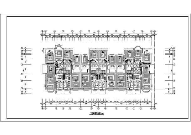 图纸 暖通设计图 采暖工程 住宅小区采暖施工图 某三层别墅地板辐射