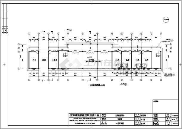 图纸 建筑图纸 古建筑设计 仿古建筑 江苏无锡三层框架结构财神殿建筑