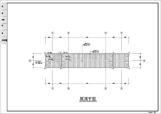 某市图纸仿古图纸标准建筑施工全套_cad公园门楼图纸起重pdf图片