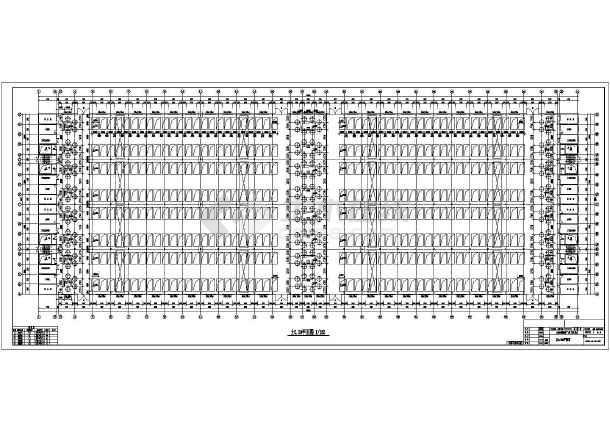 024平方米,为单层钢结构厂房,钢排架结构体系,设计基准年限:刚架主体