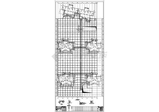 精品地下车库全套结构施工图