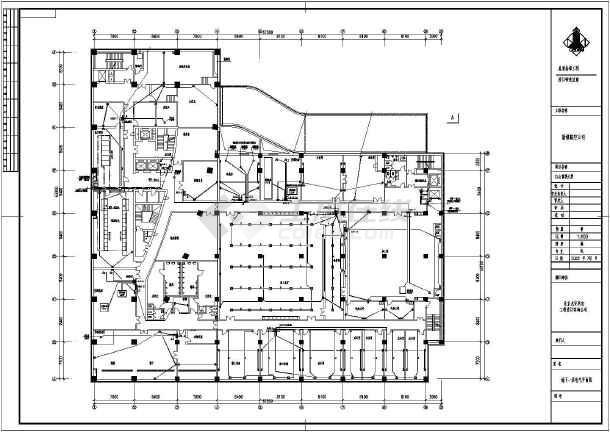 某大厦电气设计全套图纸-图1