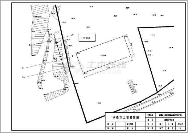 某图纸山体v图纸工程结构设计施工图_cad图纸买在渔夫3级哪边坡小屋图片