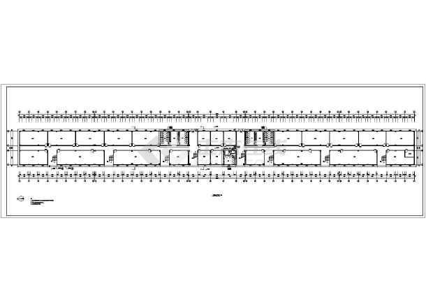 某学院运动场体育看台建筑方案设计图