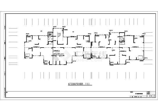 【安徽】某地24层高层住宅小区电气女装v高层字体店门头全套设计图图片