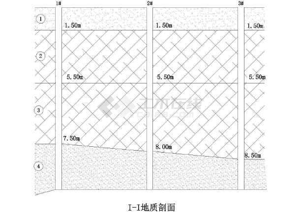 某五层框架结构厂房柱下单独基础结构施工图
