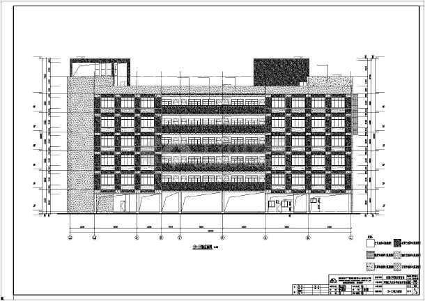某地小学教学楼办公楼建筑施工图纸