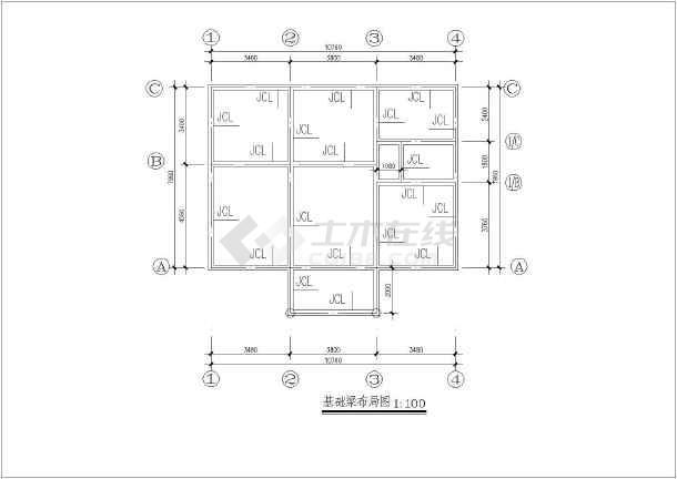 76米 宽07.96米农村自建房建筑设计图