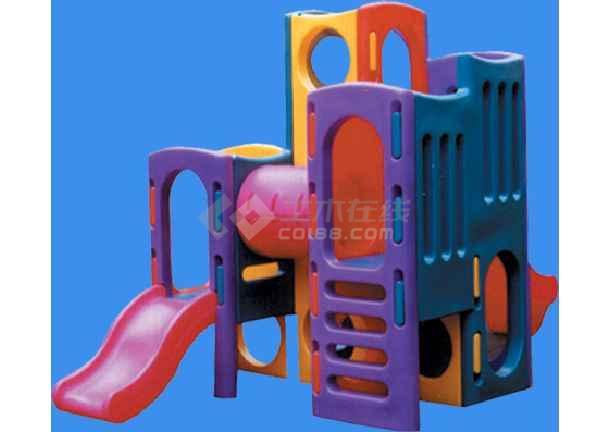 (cad园林素材)  园林景观小品设施图例(园林小品)  儿童游乐器械图集