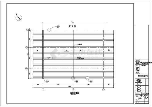 某加油站钢结构建筑结构设计施工图