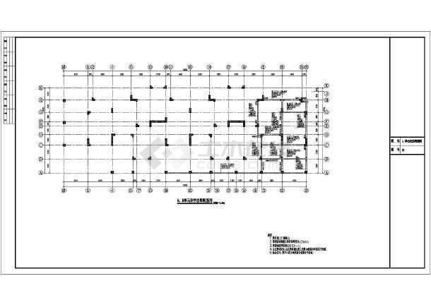 某地五层异形柱框剪结构住宅楼结构施工图