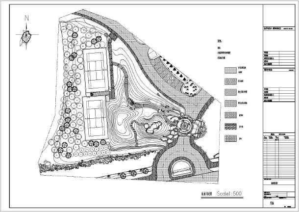 【上海】大豪虚线构件庄园v虚线说明图纸景观图纸表示上山林的图片