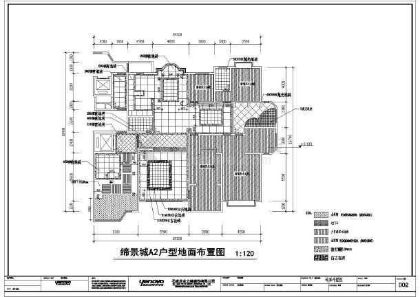 某地欧式别墅建筑室内装饰设计施工图