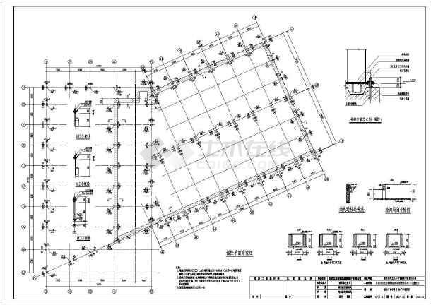 黑龙江某4S图纸和修配间(带展厅)吊车广告设计中的分辨率图片