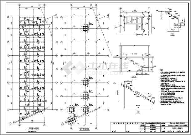 黑龙江某4S图纸和修配间(带展厅)吊车广联达中桩基础怎么绘制图片