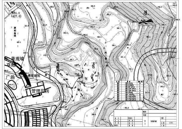 【河南】文化公园景观设计施工图纸